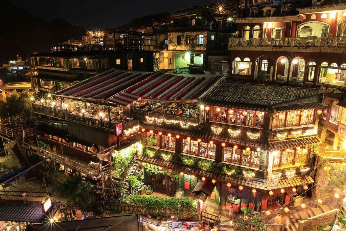 Du lịch Đài Loan Phần 2 - Thơ mộng làng cổ Jiufen, Shifen